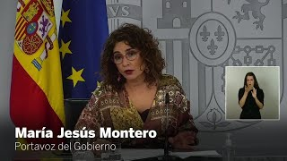 María Jesús Montero llama a la prudencia de cara al 8M