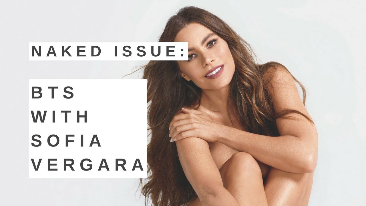 Sofa Vergara poses nude for a magazine cover  and she's 45!