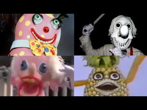Top 20 Unintentionally Disturbing Kids' Characters From Arou