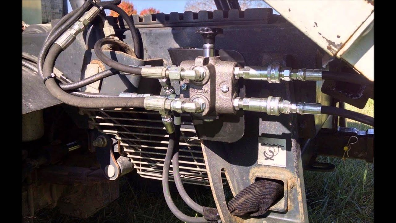 small resolution of utv hitchworks bobcat toolcat 5600 c series and earlier manual selector valve installation