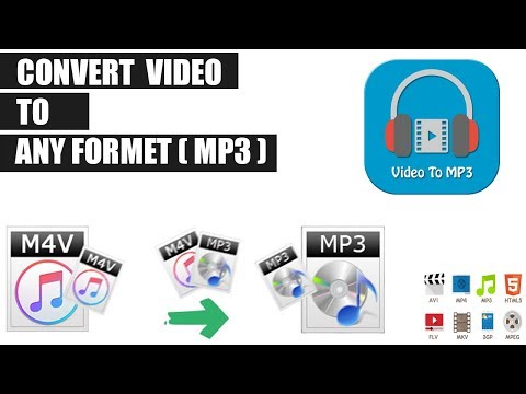How To Convert Video To Mp3 File On Pc | MP4 To MP3 Convertor 2018