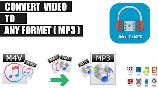 How to convert video to mp3 file on pc   MP4 to MP3 convertor 2018