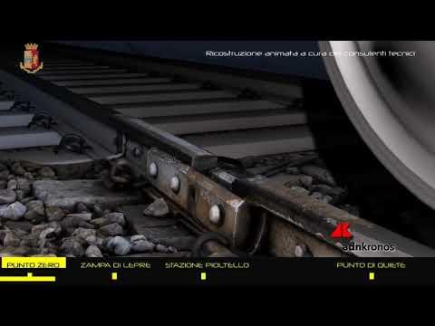 Incidente Pioltello, video ricostruisce deragliamento: treno viaggiava a 130 km