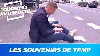 Matthieu Delormeau échangeait ses chaussettes avec un passant dans la rue !