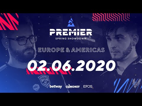 CS:GO EU/NA Groups Day 2 | BLAST Premier Spring Showdown