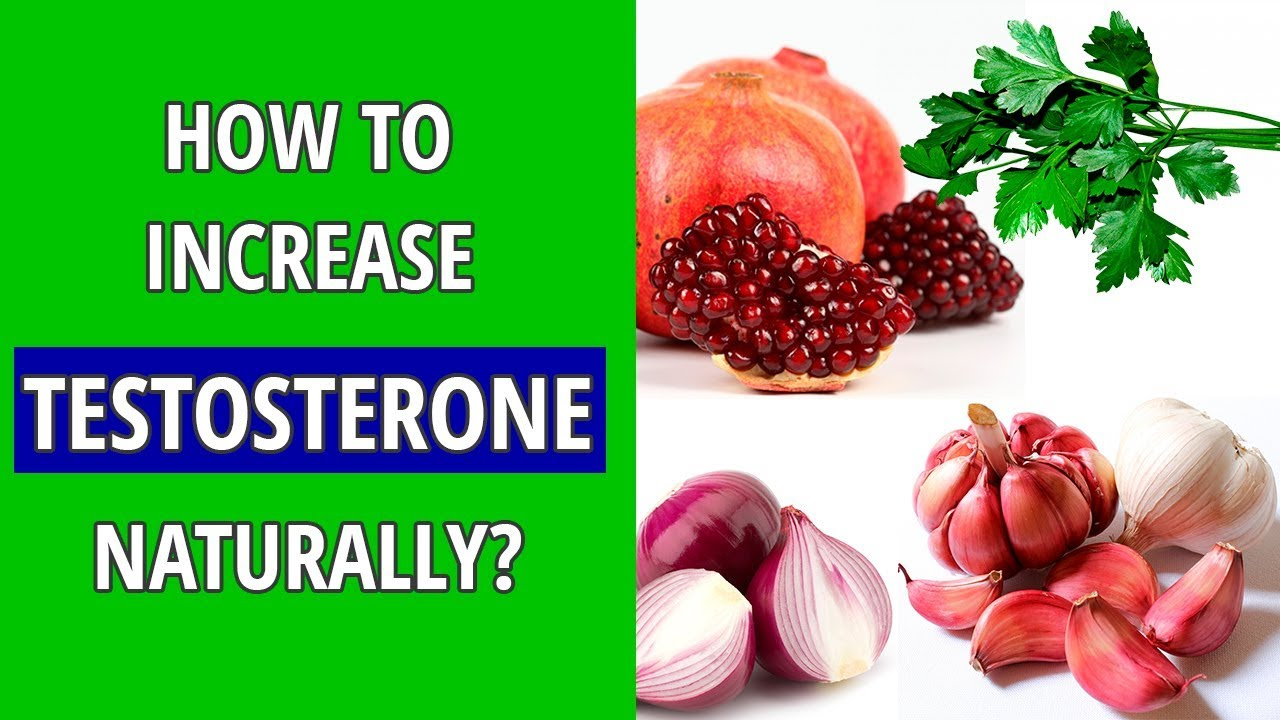 10 foods that increase testosterone levels naturally - YouTube