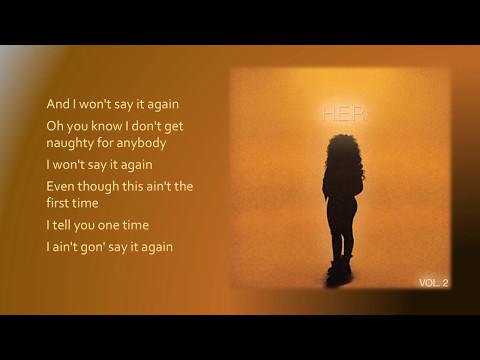H.E.R. - Say It Again (Lyrics)