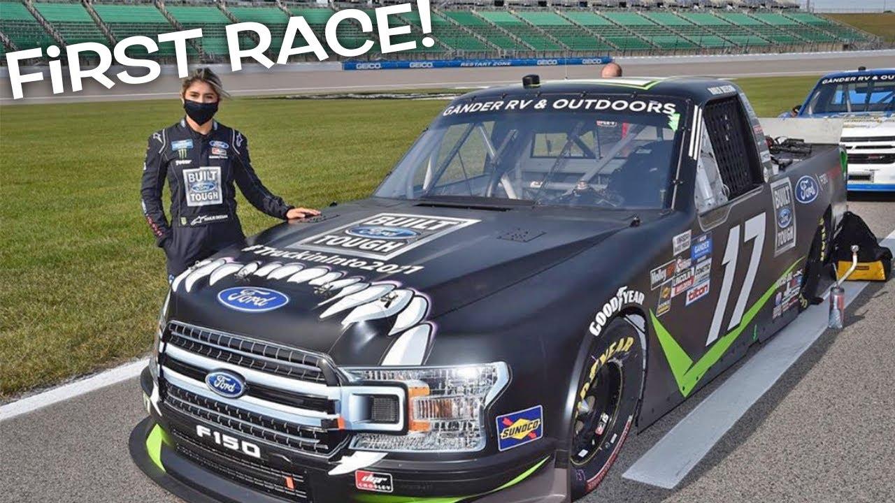 Hailie Deegan is making her NASCAR Trucks debut at Daytona ...