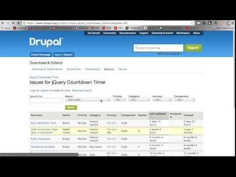 Drupal 7 jQuery Countdown Timer | Code Karate