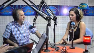 الممثل علي بنور و الممثلة ريم بن مسعود ضيفا برنامج السهرية