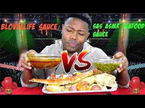 Bloveslife Sauce Vs Sas Asmr Seafood Sauce Youtube Eating, en, girl, sas, video. bloveslife sauce vs sas asmr seafood sauce