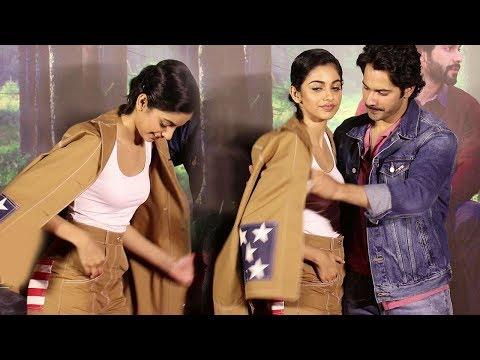 Varun Dhawan SAVES October Actress Banita Sandhu From OOPS Moment In Public
