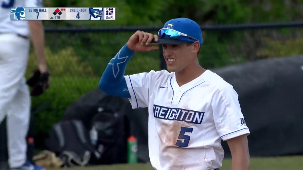 new product bacc8 6d764 Creighton Baseball Highlights - Seton Hall 5-23-19