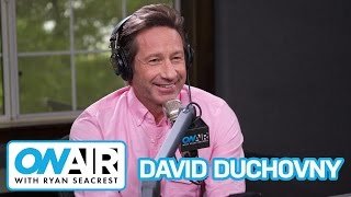 "David Duchovny Talks Return of ""The X-Files"" 