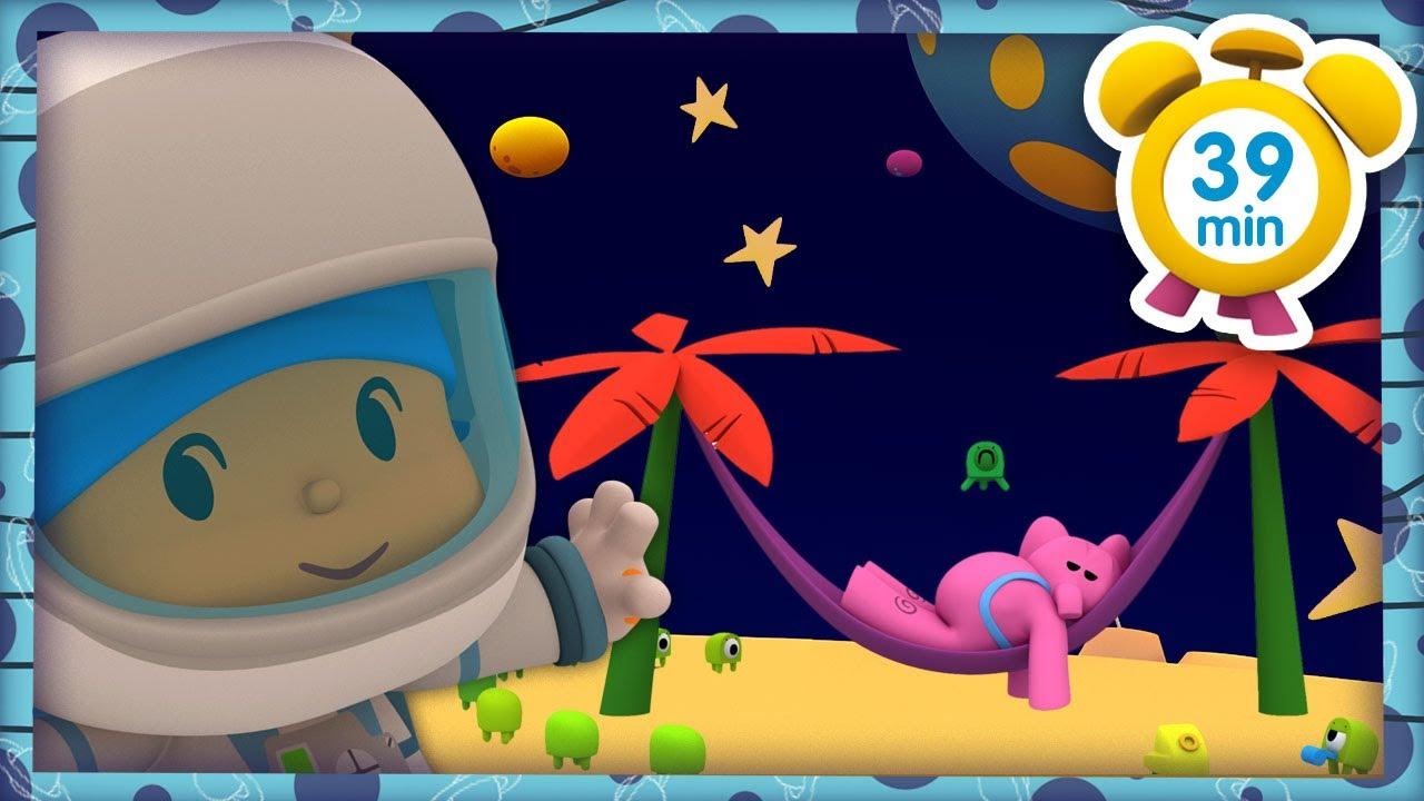 👽 ぽこよ日本語 l Pocoyo Japanese l  火星人のお休み(39分)全話 子どものためのアニメ動画