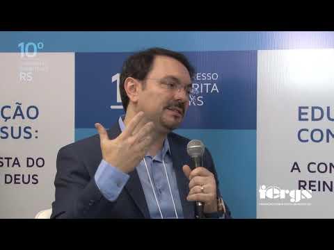Bate-papo Com Rossandro Klinjey No 10º Congresso Espírita Do RS
