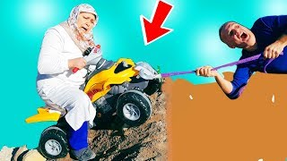 Ayşe Toy Atv Rides Buy Toy Atv Buying And Fell In The Pit, Slime Mixture,