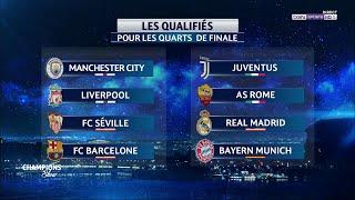 🏆 UEFA Champions League ⚽️ 🔴🔮 Suivez en direct le tirage au sort des 1/4 de finale !