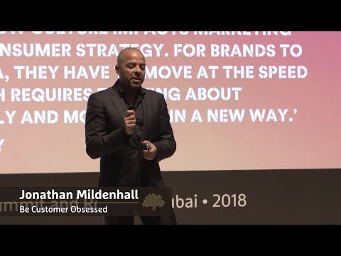 Be Customer Obsessed | Jonathan Mildenhall - YouTube