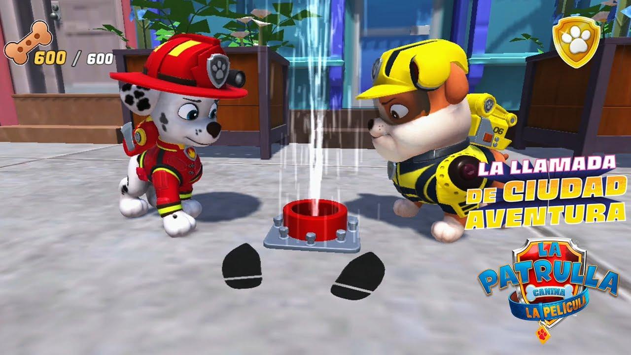 Apaga los fuegos - La Patrulla Canina: La llamada de Ciudad Aventura Gameplay #1 [Nintendo Switch]