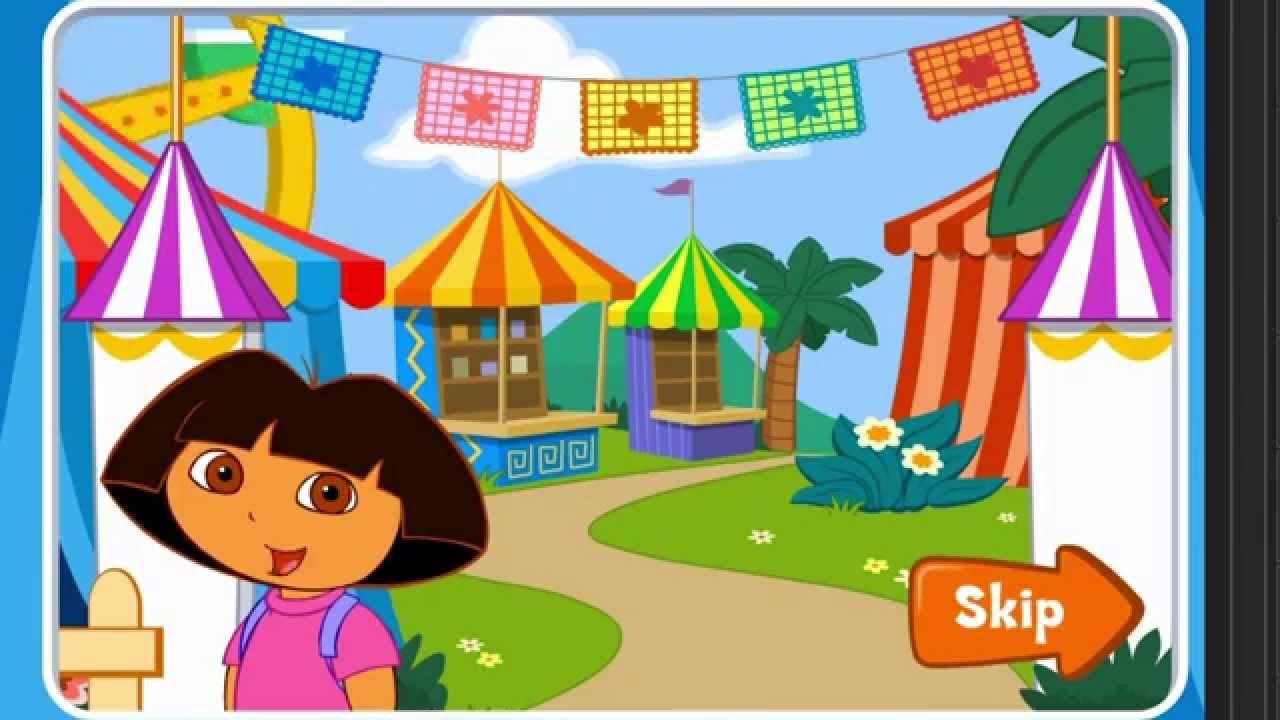 Dora The Explorer 3d Dora S Carnival Adventure Game Play