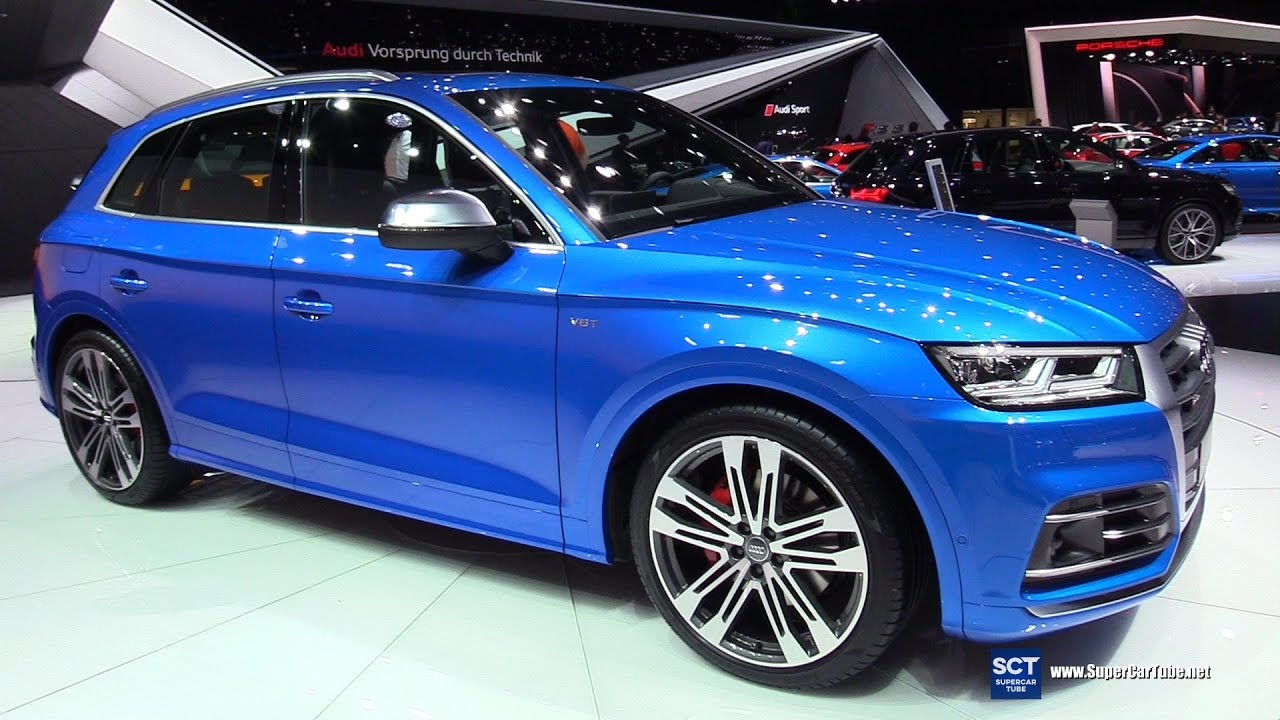 2018 audi sq5 exterior and interior walkaround debut. Black Bedroom Furniture Sets. Home Design Ideas