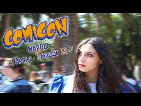 Napoli COMICON 2017 - we are heroes! (cosplay video)