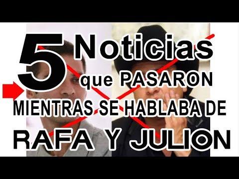 5 Noticias que pasaron mientras hablabamos de Julion y Rafa Marquez