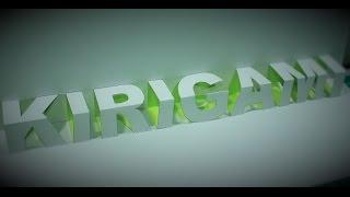 Kirigami: Cara membuat tulisan pop-up 3d dengan kertas