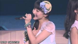 Sayashi Riho【鞘師里保】Solo lines - Hello! Project Natsu 2012 ~Ktkr Natsu no Fan Matsuri!~