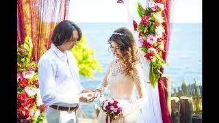 Свадьба на море вдвоём!