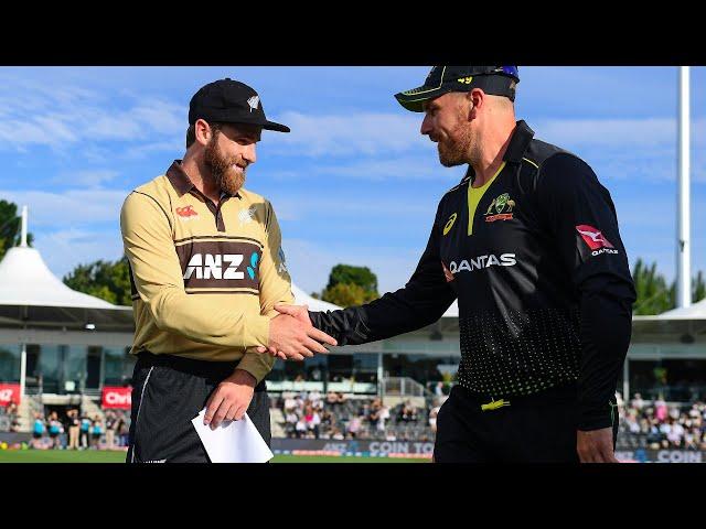 FULL LIVE MATCH BLACKCAPS v Australia | 2nd Match KFC T20 Series | University of Otago Oval