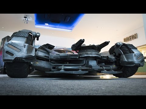 Up Close with the New Batmobile