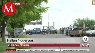 Un día después tras operativo en Culiacán