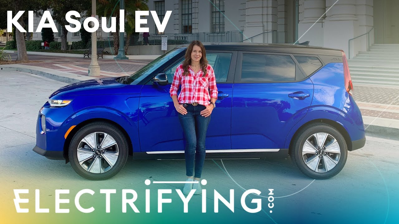 Kia Soul EV: In-depth review with Ginny Buckley / Electrifying