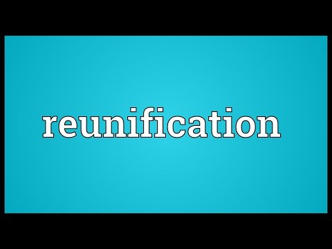 Reunification Meaning