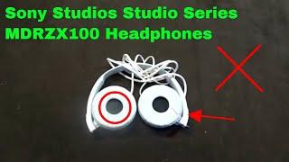 ✅  How To Use Sony Studios Studio Series MDRZX100 Headphones Review