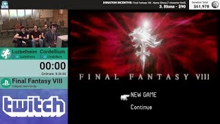 Final Fantasy VIII by Luzbelheim and Cordellium (RPG Limit Break 2018 Part 33)