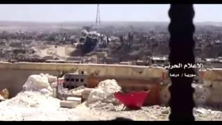درعا تحرق بالنابالم والبراميل المتفجرة.. نظام الأسد يمهد لمعركة وشيكة في درعا