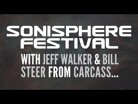 CARCASS - Jeff Walker and Bill Steer at Sonisphere Festival 2014 (OFFICIAL INTERVIEW)