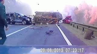 САМАЯ ЖОСТКАЯ АВАРИЯ ! Видео Дтп ! Авария на Видеорегистратор ! Дтп видео ! Реальная авария !(Подборка ДТП, аварий, автомобильная катастрофа. Selection of an accident, accident, car accident. автокатастрофа, автокатастрофа..., 2013-11-23T06:50:53.000Z)