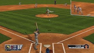 RBI Baseball 14: Chicago Cubs vs Minnesota Twins Full Game