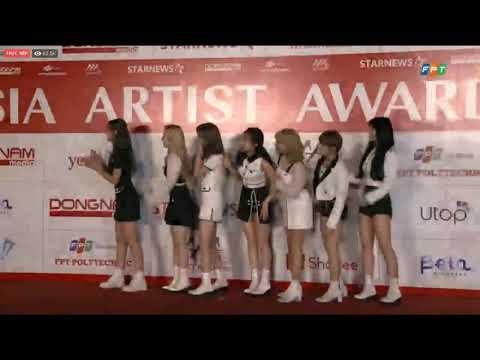 191126 TWICE (트와이스) RED CARPET @ 2019 Asia Artist Awards AAA