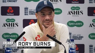 England to return serve after Aussie bouncer barrage: Burns