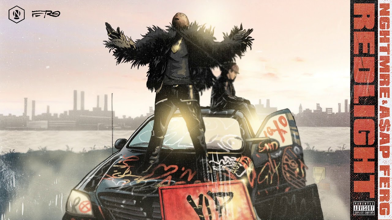 NGHTMRE & A$AP Ferg — REDLIGHT (VIP) (Animated Cover Art) [Ultra Music]