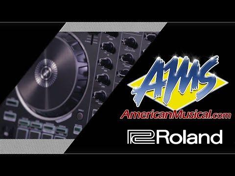 Roland DJ-202 DJ Controller Overview