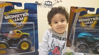 Hot Wheels Monster Jam-Truck Kamyon Yarışı