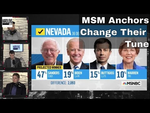 NBC Hack Realizes Bernie Sanders Will Win And Flip Sides
