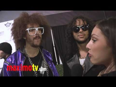 LMFAO Interview at The Black Eyed Peas Peapod 2011