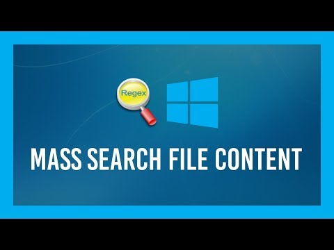 Mass Search Files For TEXT CONTENT Quickly | GrepWin Tutorial | Windows 10
